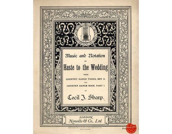 4582 | Haste to the Wedding - From Country Dance Tunes Set II and Country Dance Book Part I - With Instructions to The Dance Steps