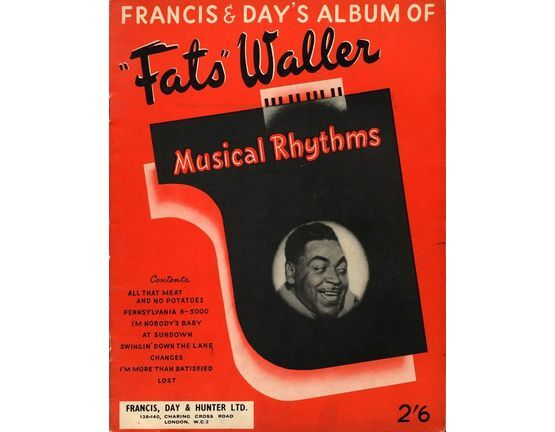 Thomas Fats Waller Musical Rhythms only £18.00