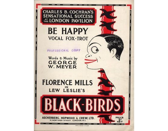 4895 | Be Happy - Vocal Fox Trot Featuring Florence Mills - From the Theater Production "|555|432|?|98bf44a92bbaa08df77b8d7134f2dbf9|False|UNLIKELY|0.34527677297592163