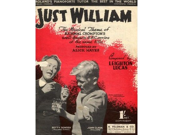 5047 | Just William - The Musical Theme of Richard Crompton\'s B.B.C. series of the same title