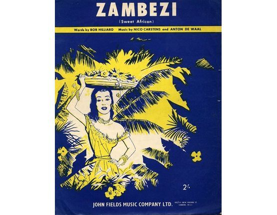 5913 | Zambezi  (Sweet African) as performed by Bob Grover