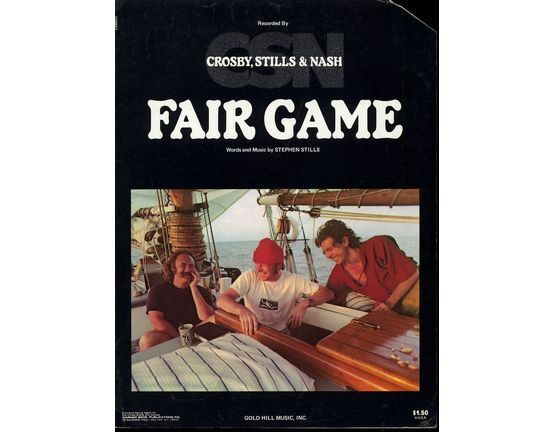 6142 | Fair Game - Featuring Crosby, Stills and Nash