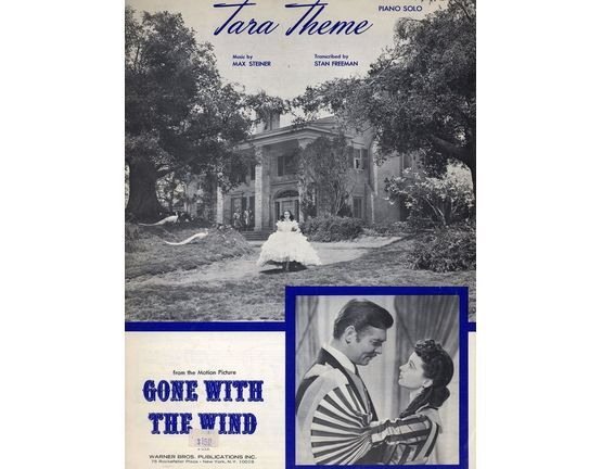 6142 | Tara Theme - Piano Solo - From Gone with the Wind - Featuring Clark Gable and Vivien Leigh