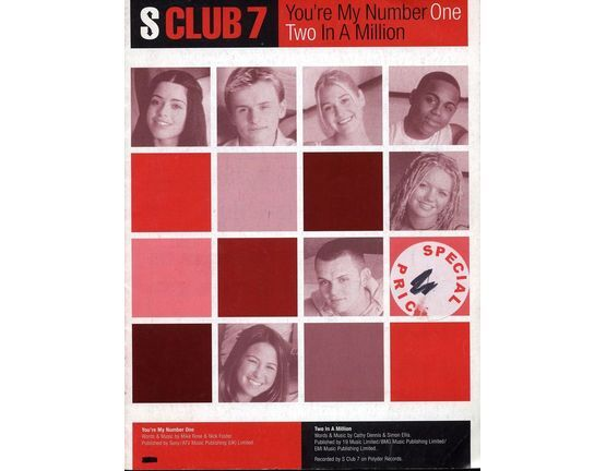 6280 | S Club 7 - You\'re My Number One - Two In A Million