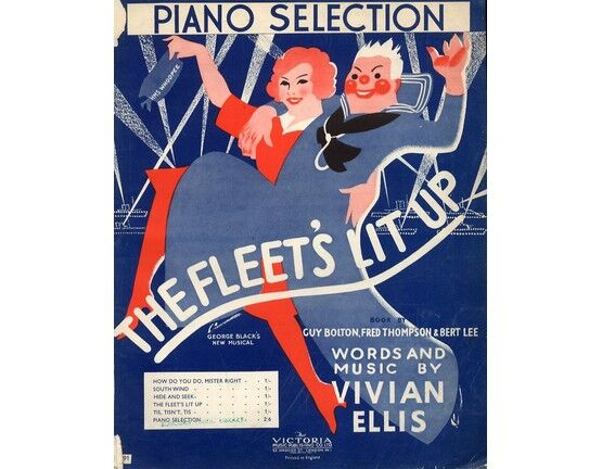 6542 | Piano Selection -  from \'The Fleet\'s lit up\'