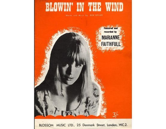 6580 | Blowin In the Wind - Featuring Marianne Faithfull