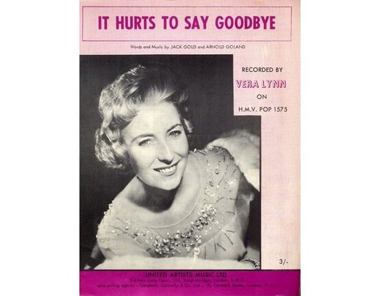 6746 | It Hurts to Say Goodbye - Vera Lynn