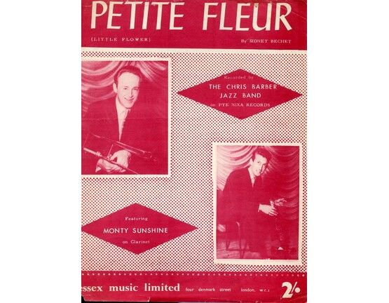 6943 | Petite Fleur - As performed by The Chris Barber Jazz Band with Monty Sunshine