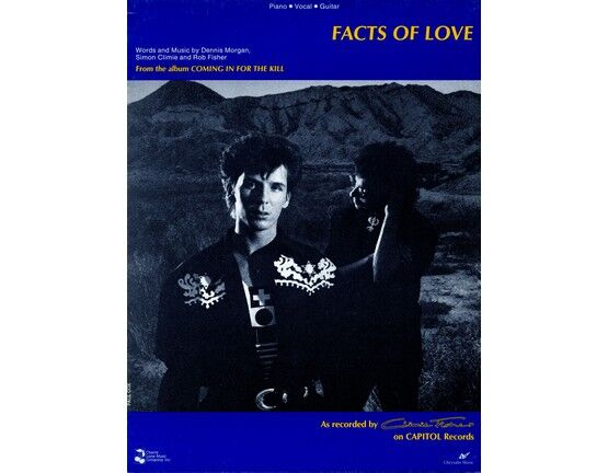 7138 | Facts of Love - Featuring Climie Fisher - Piano - Vocal - Guitar