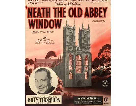 7791 | Neath The Old Abbey Window - Song Fox trot - Featuring Billy Thorburn