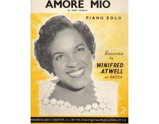 7807 | Amore Mio - Piano Solo - Featuring Winifred Atwell