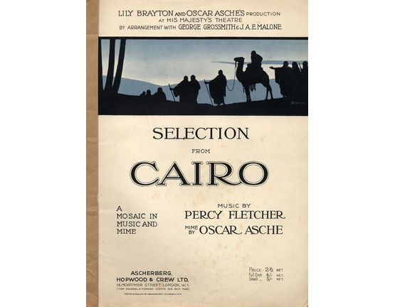 7809 | Cairo - A Mosaic in Music and Mime - Piano Selection