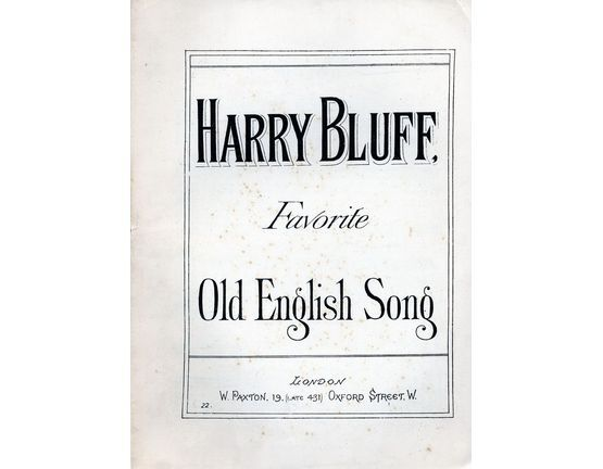 7816 | Harry Bluff - Song