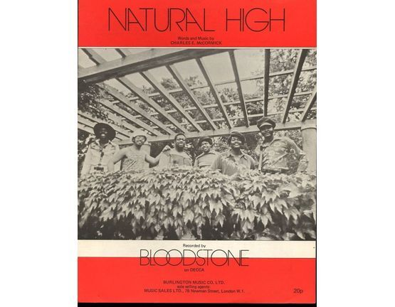 7849 | Natural High - Recorded by Bloodstone on Decca Records