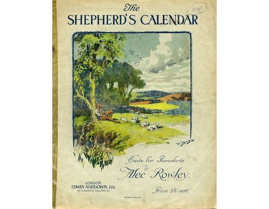 8646 | The Shepherds Calander - Suite for piano