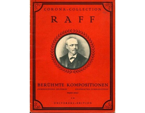 9157 | Raff - Celebrated Compositions - Piano Solo - Corona Collection No. 95 (Universal Edition)