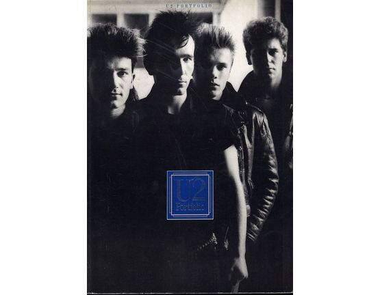 9616 | U2 - Portfolio - The Official U2 Song Book - Guitar Chords with Melody Line