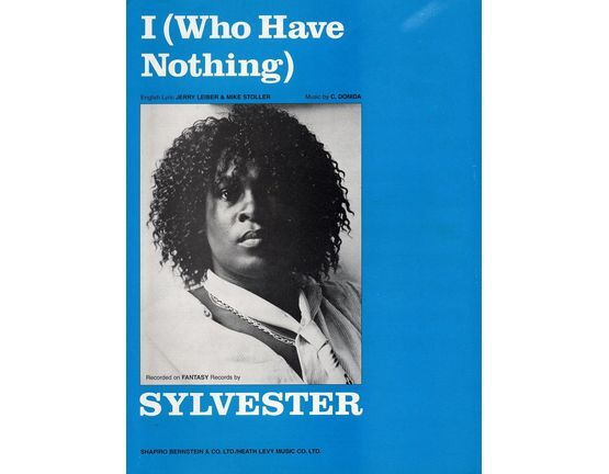 9755 | I (Who have nothing) -  Sylvester