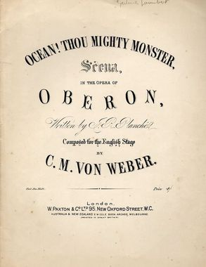 19th Century Songs Beginning With O