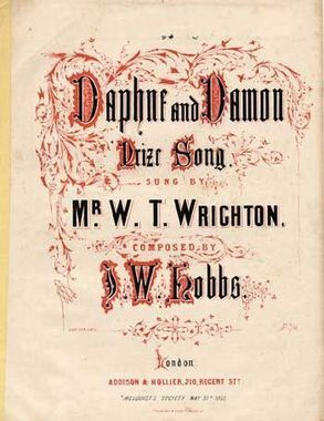 19th Century Songs Beginning With D