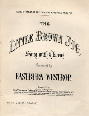 19th Century Songs Beginning With T